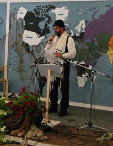 Jussi Kinnunen kertoo juutalaistyöstä.